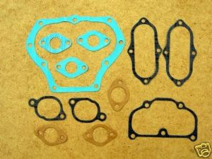 Gasket Set, Decoke, BSA A7 & A10, 1950-62.